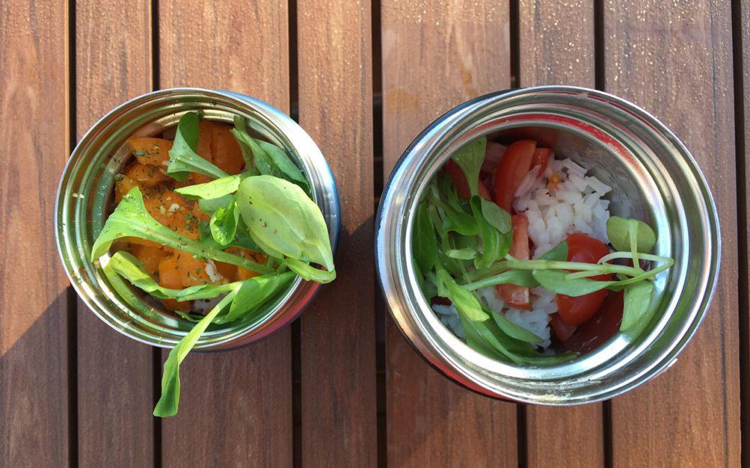 10 salades repas idéales pour les boîtes à lunch / lunchbox !