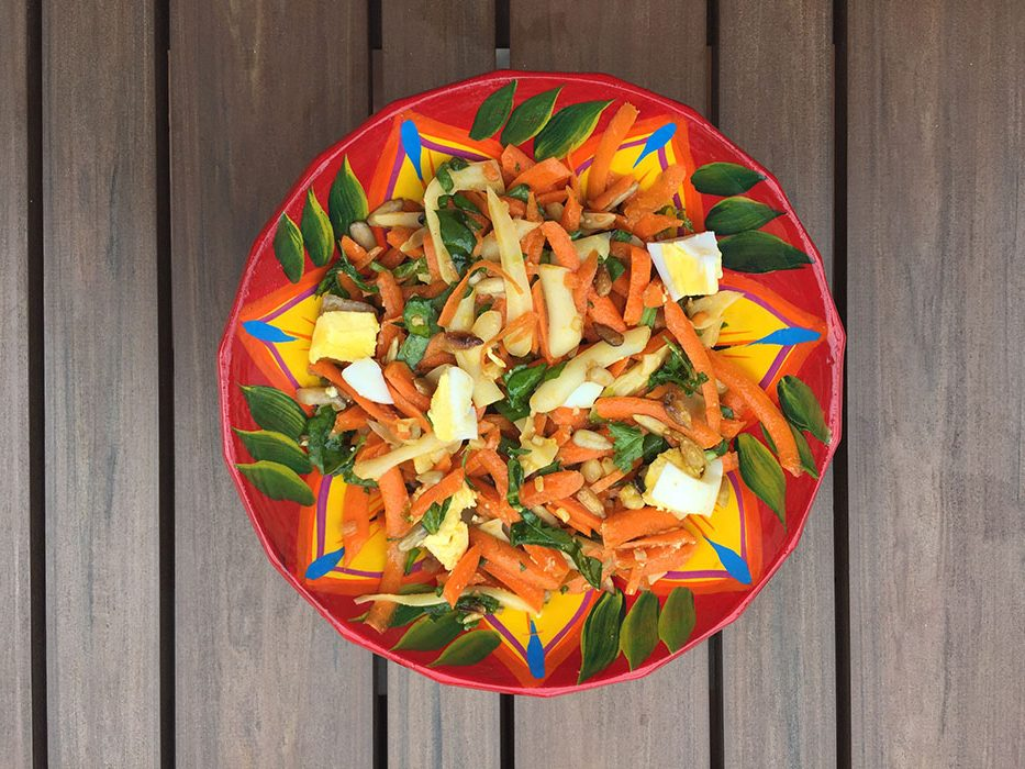 Salade de carotte - Super boite à lunch