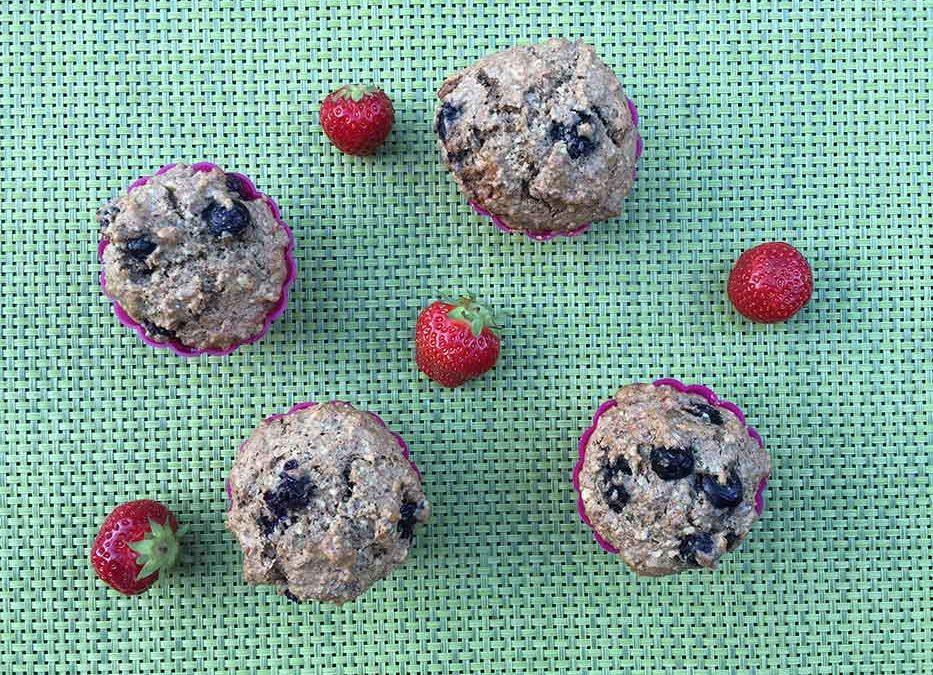 Les muffins santé aux bleuets d'Arthur