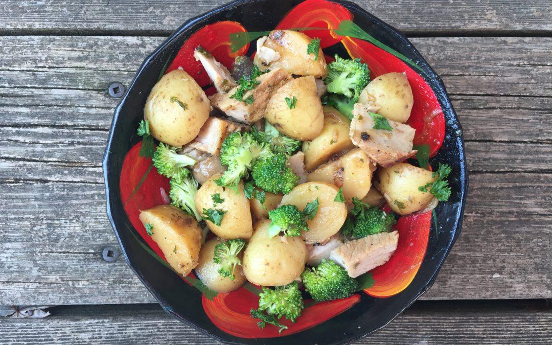 le bienfait des brocolis et des champignons dans une bonne recette rassasiante