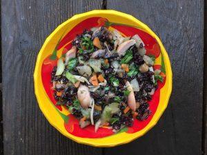 le riz noir est un super aliment
