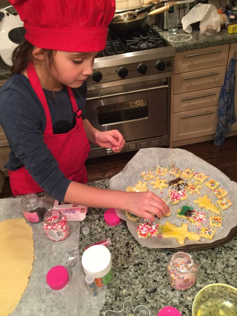Décoration des biscuits