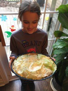 Louison et les lasagnes au chou