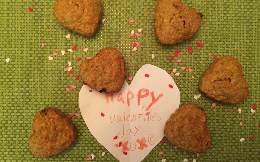 Original pour la Saint Valentin : les petits gâteaux aux carottes