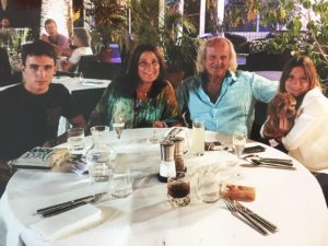 isabelle et sa famille
