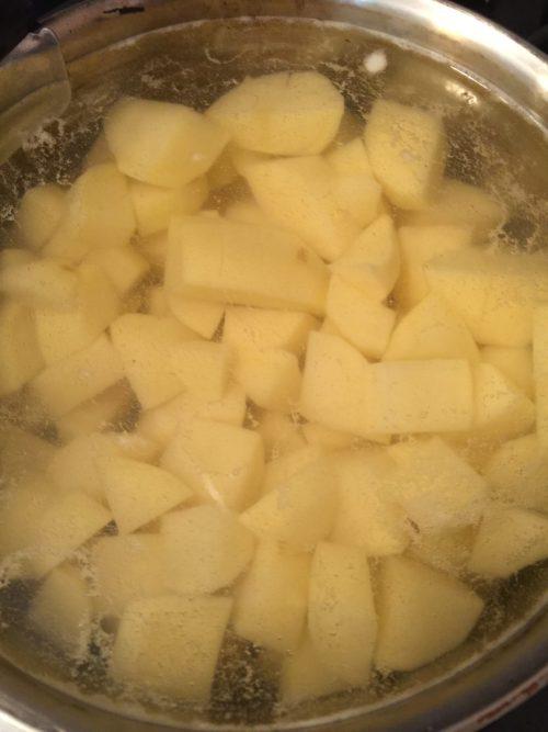 Cuisson des pommes de terre pour super boite à lunch