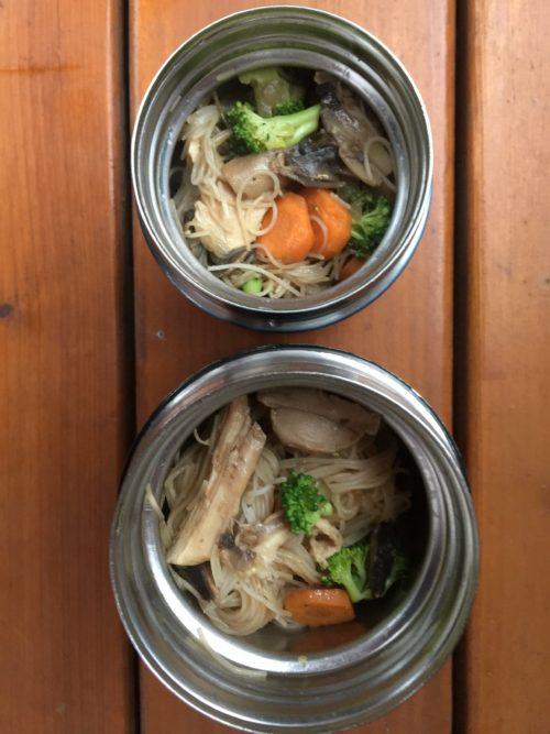 Thermos avec vermicelles de riz de Super Boîte à Lunch