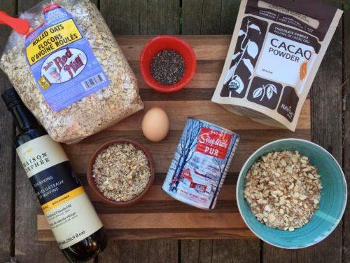 Ingrédients pour les céréales de Super Boîte à Lunch