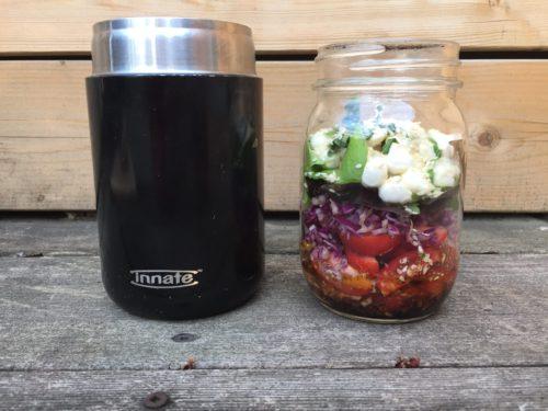Comment organiser sa salade dans un thermos par super boîte à lunch
