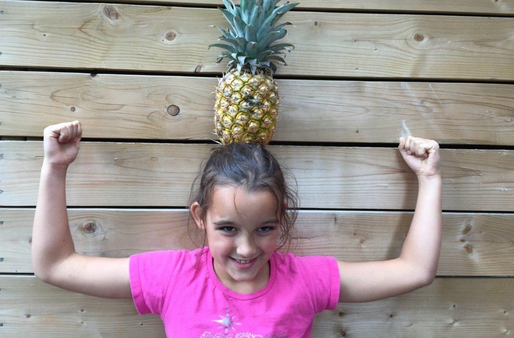 Les 5 fruits préférés de Loulou : L'ananas
