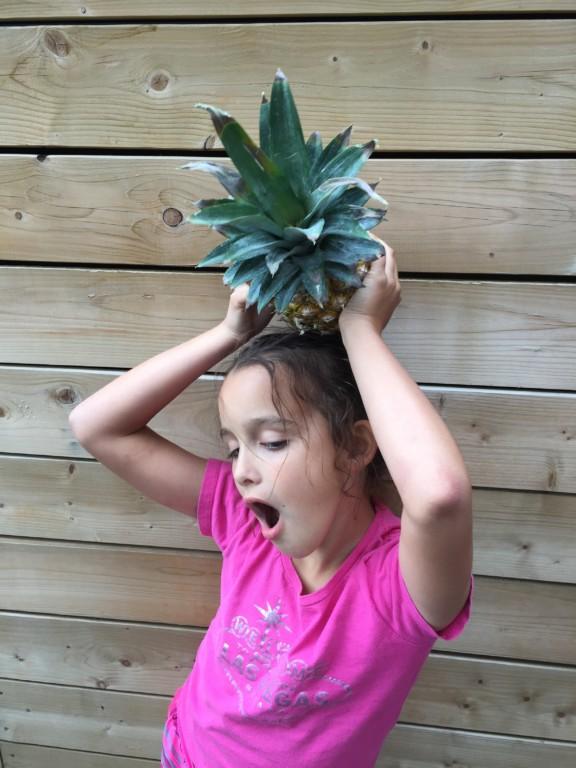 loulou aime l'ananas
