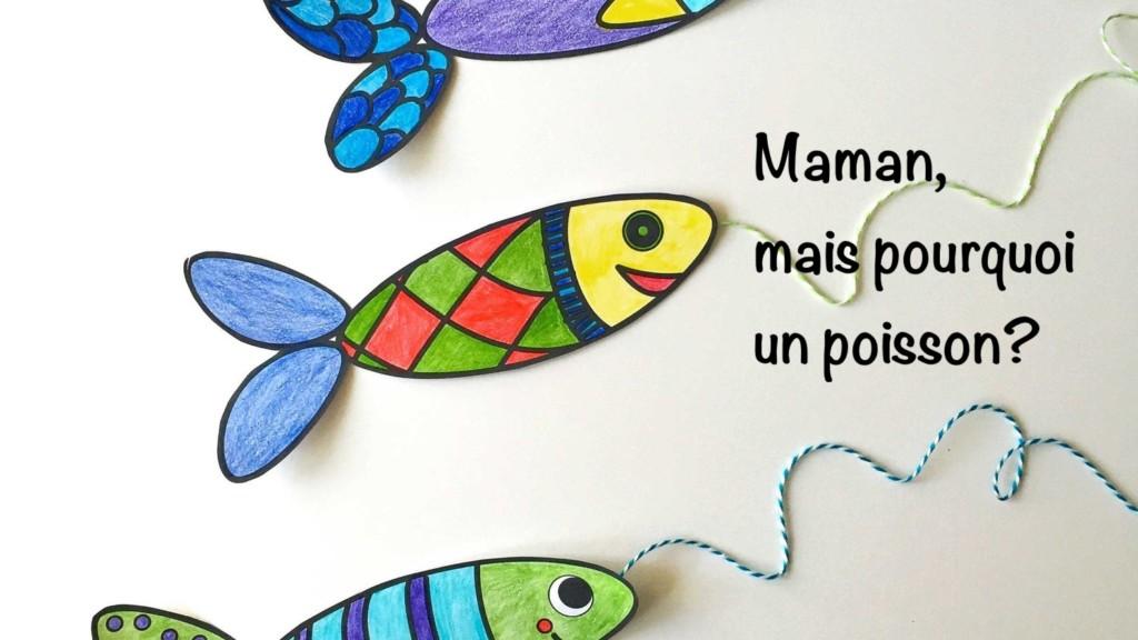 Histoire et carte à Lunch : poisson d'avril dans vos lunchbox !