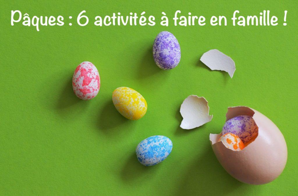 6 activités à faire à Pâques (pour décoller les enfants des écrans)