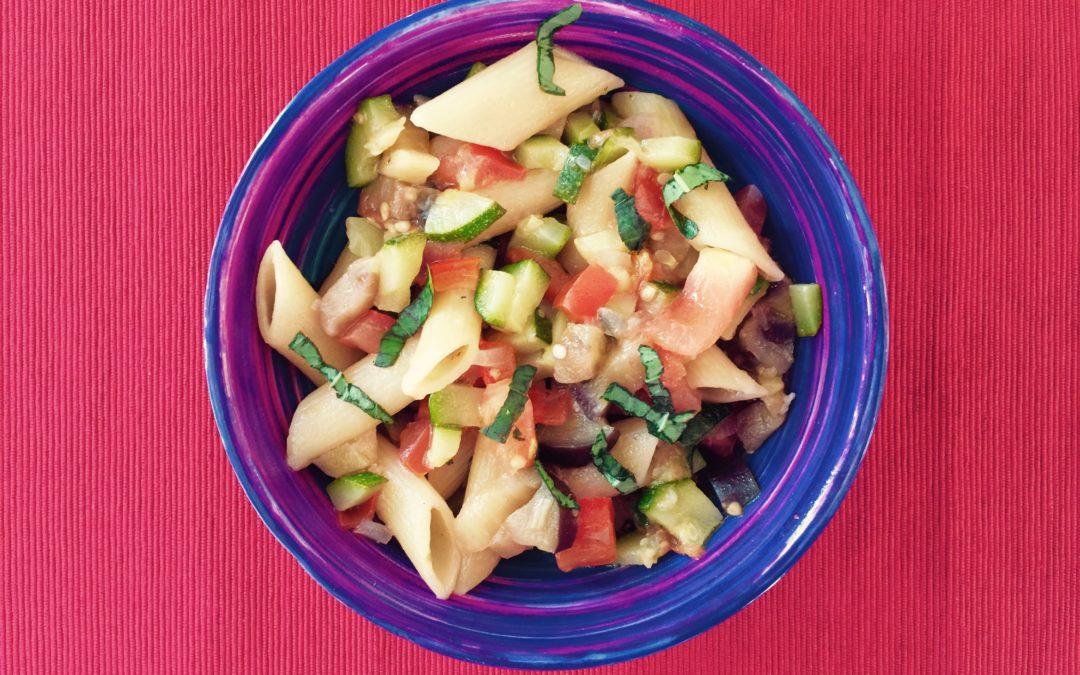 LUNCHBOX DU JOUR : Casserole de pâtes & ses légumes de saison