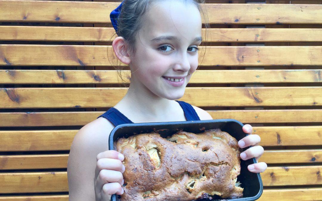 Délicieux cake aux pommes [3/6/9/12/15]