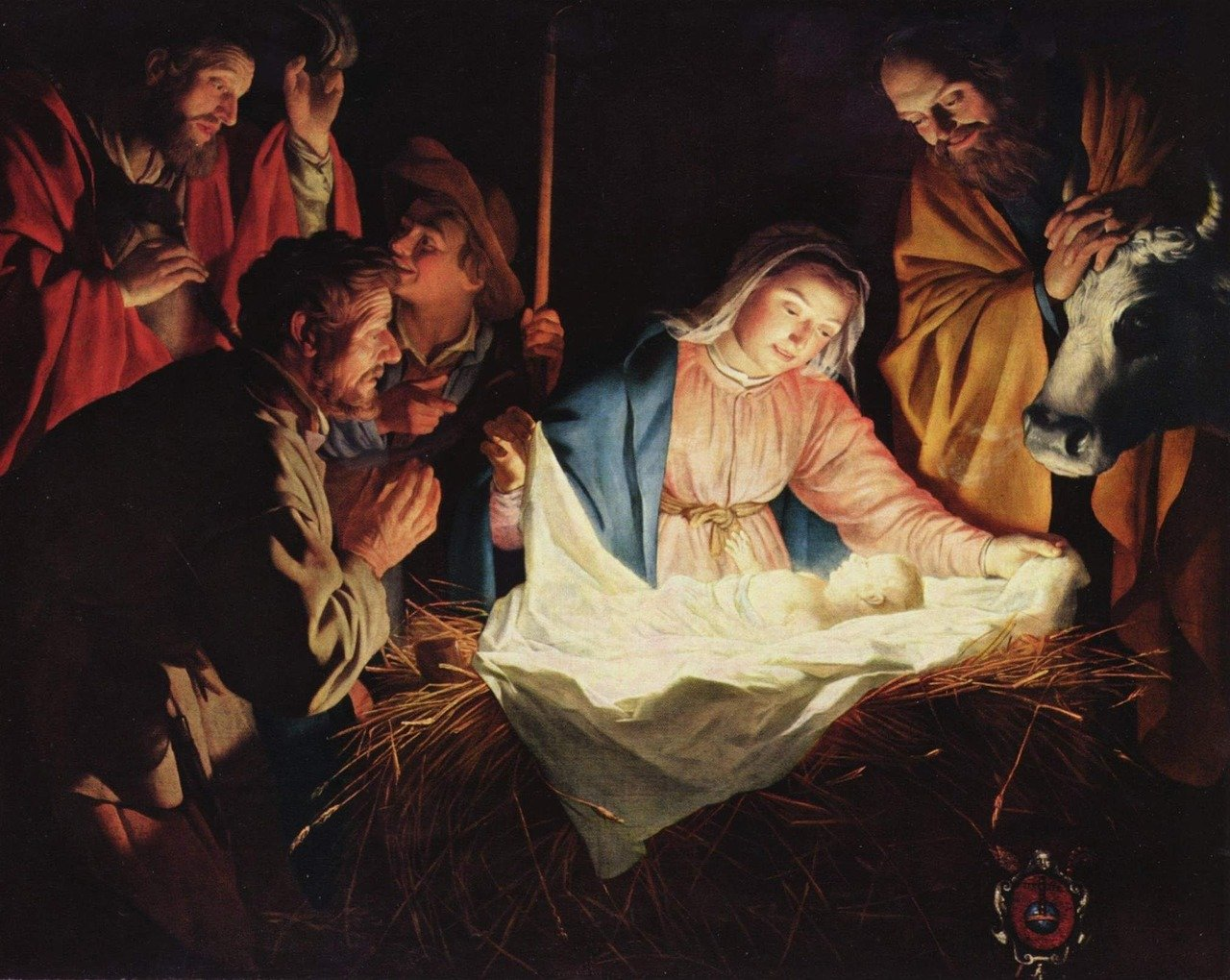 La naissance de Jésus par Super Boîte à Lunch