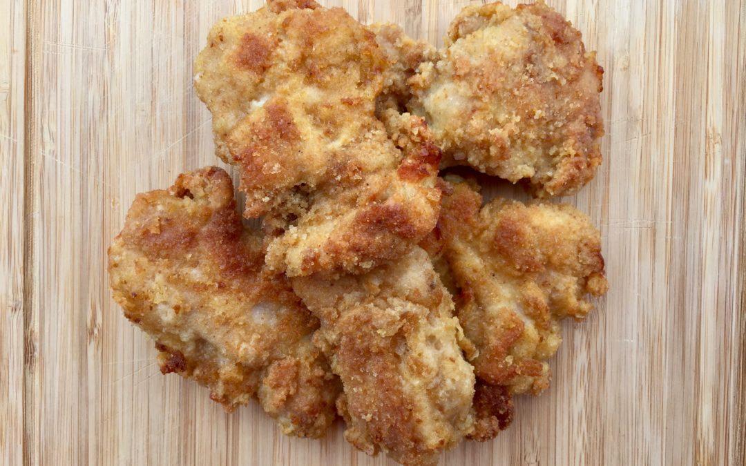 """Nuggets de poulet """"santé"""" et croustillants (au four !)"""