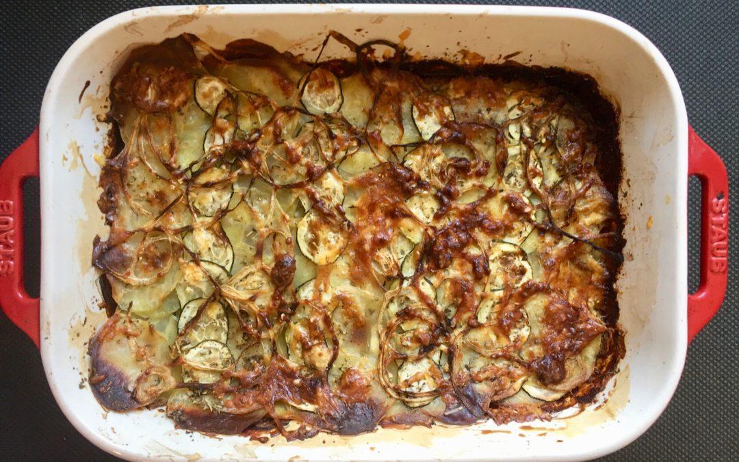 LUNCHBOX DU JOUR : Comment faire un gratin pommes de terre & légumes en moins de 15 minutes ?