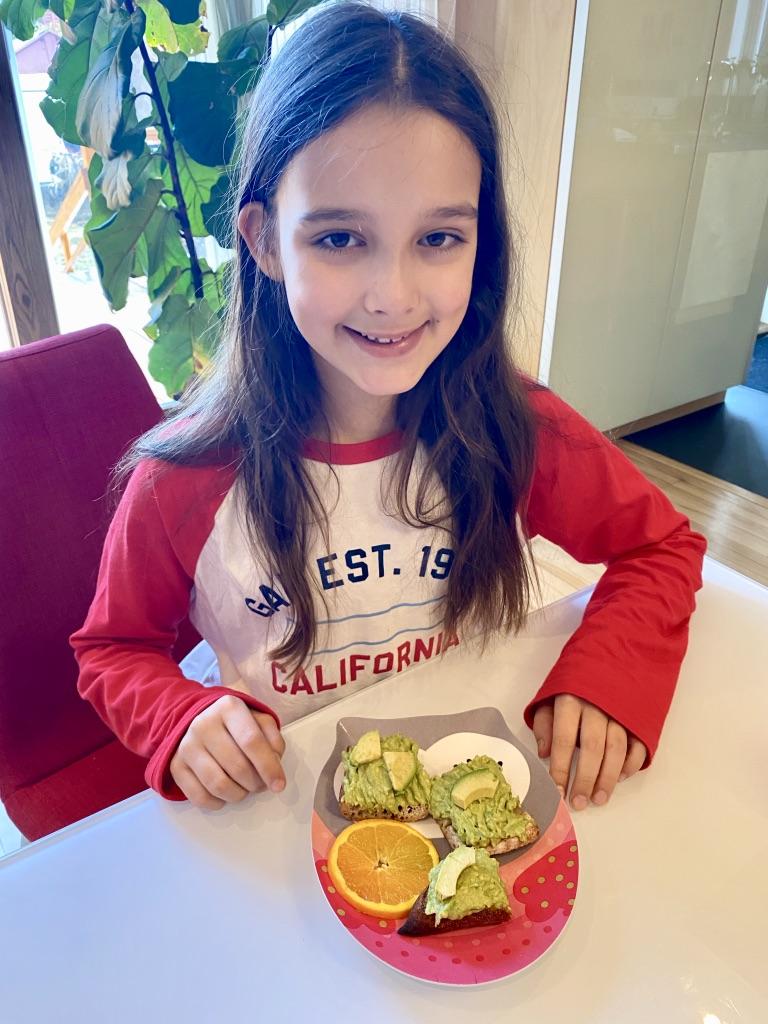 Les super petit-déjeuners de Louison pour Super Boîte à Lunch