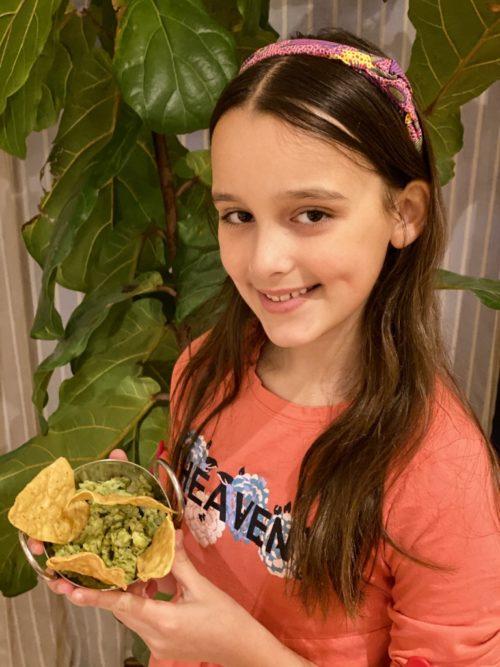 Le guacamole de Louison
