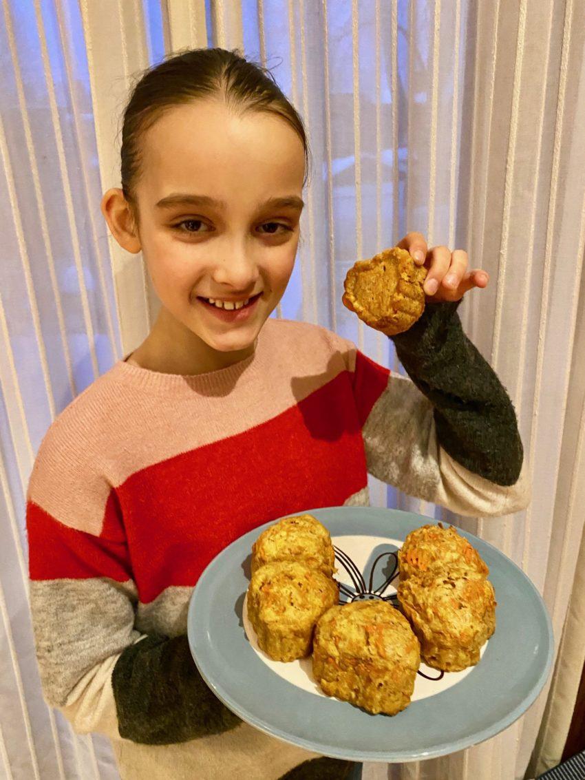 Gâteaux aux carottes de Super Boîte à Lunch