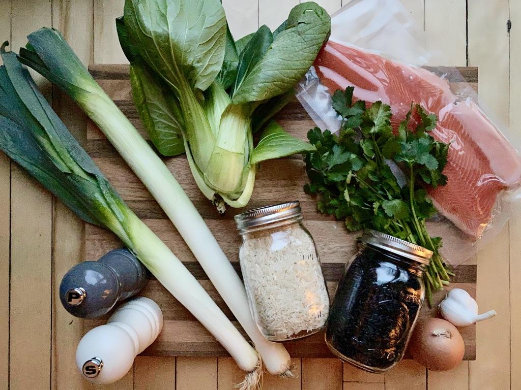Ingrédients pour la recette de Super boîte à lunch