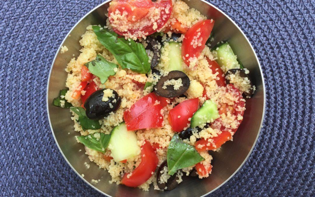 Lunchbox salade de couscous de Super Boîte à Lunch