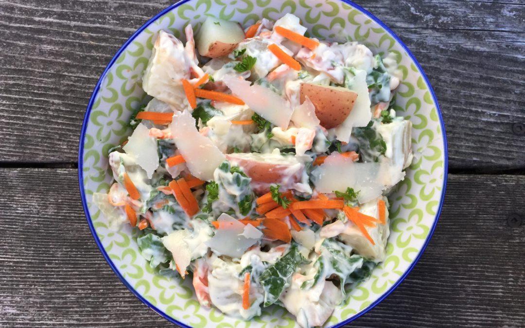 salade complète pour lunchbox