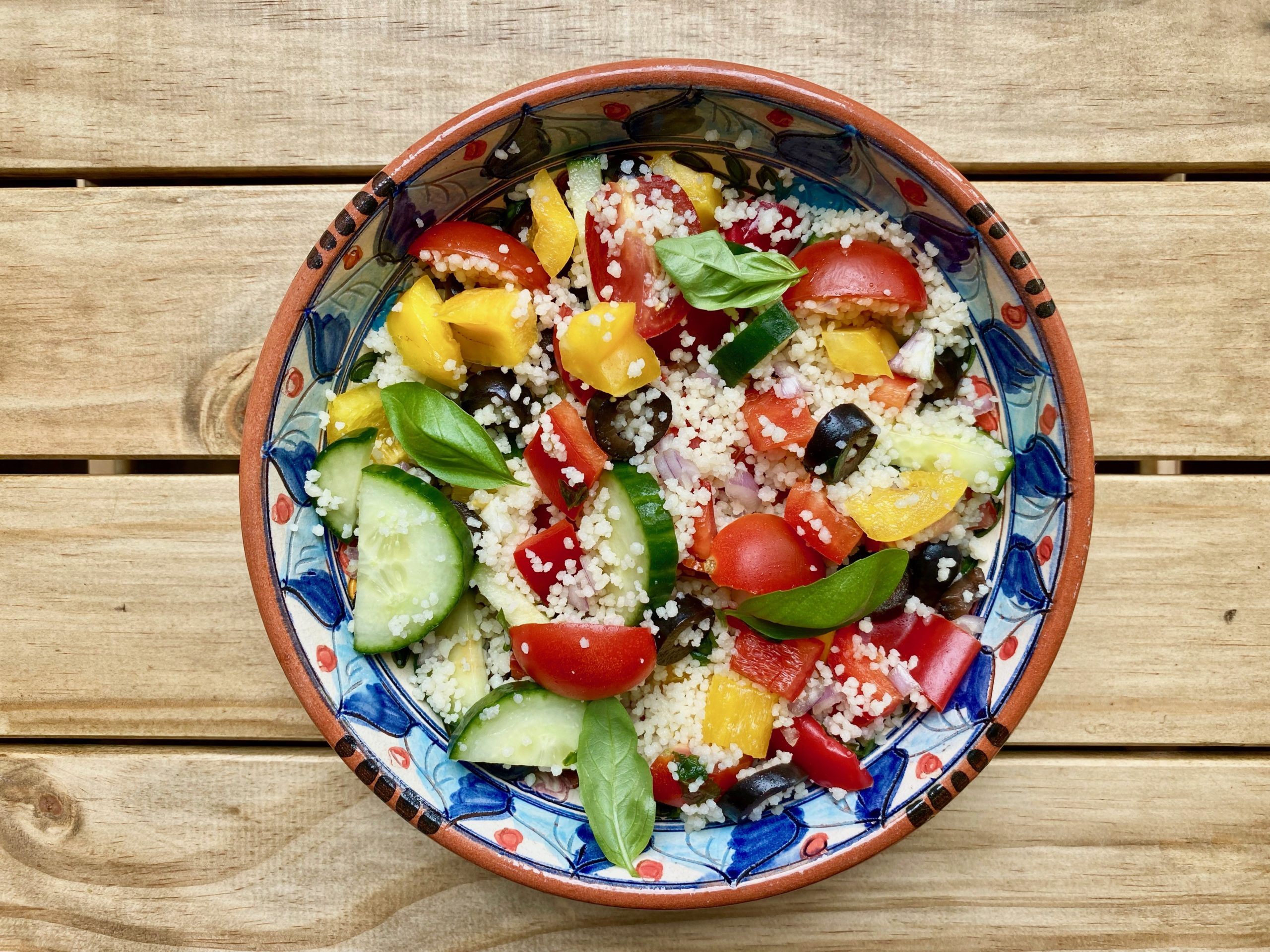 salade repas pour les lunchbox